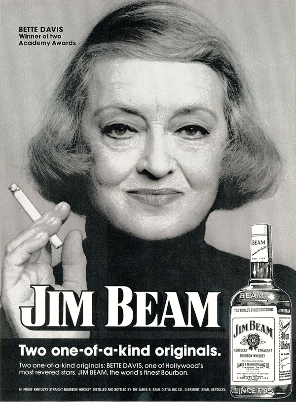 jim beam bette davis